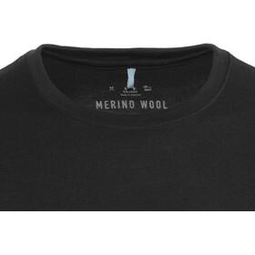 Odlo Natural 100% Merino Warm Crew Neck LS Shirt Men black